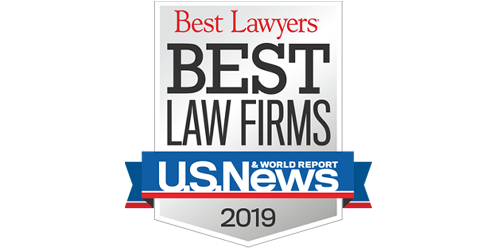 "Hinckley Allen Recognized on ""Best Law Firm"" List for the Ninth Consecutive Year"